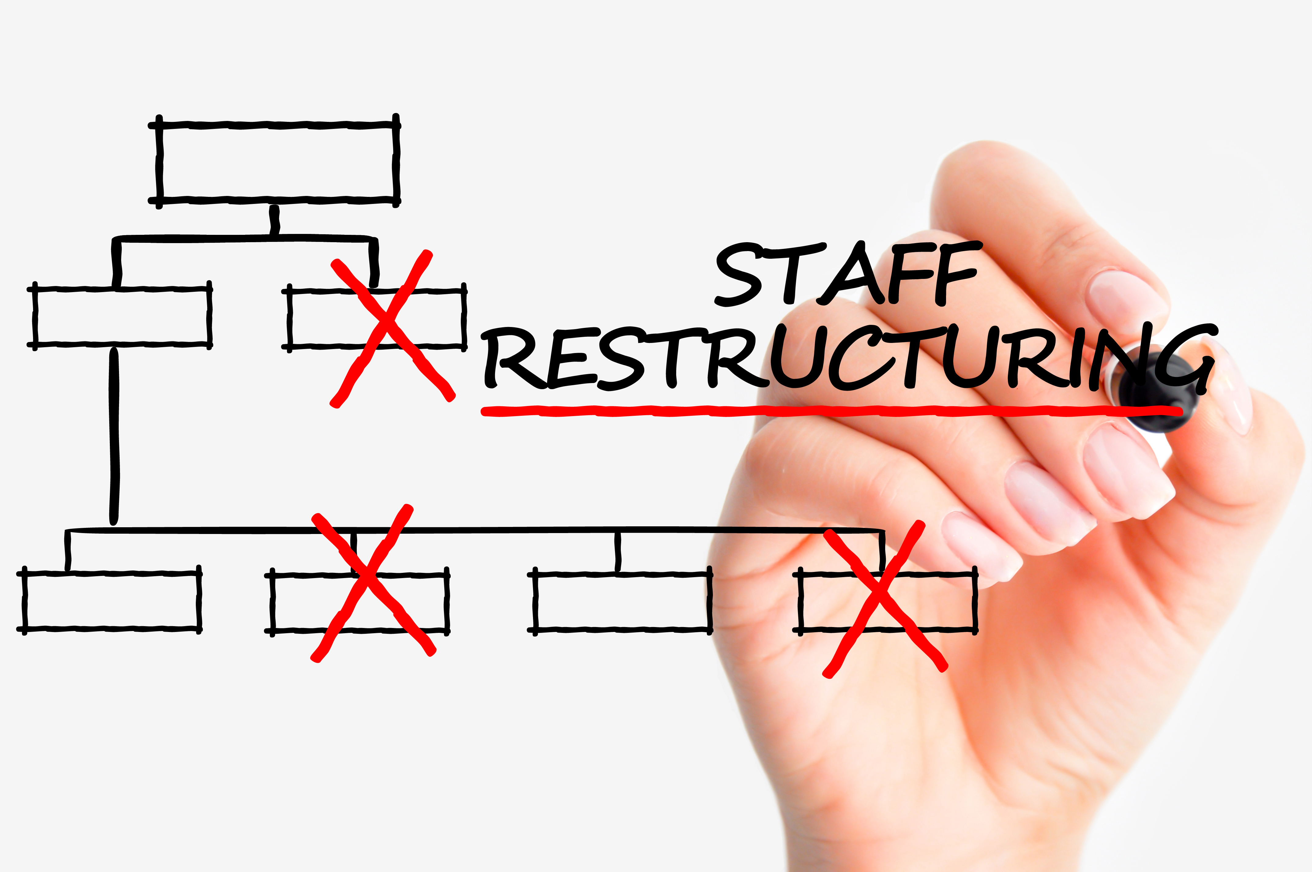 Staff restructuring